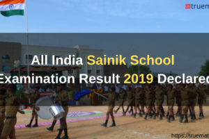All India Sainik School Result Declared