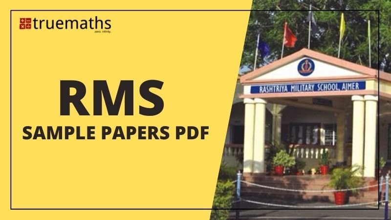 Rashtriya Military School Question Papers pdf and RMS sample paper pdf