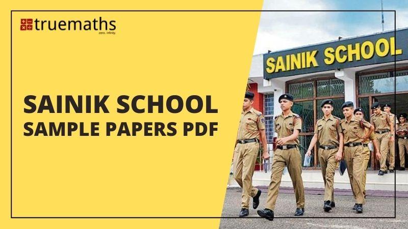 sainik school question paper pdf for class 6 and 9