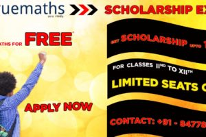 MATHS SCHOLARSHIP