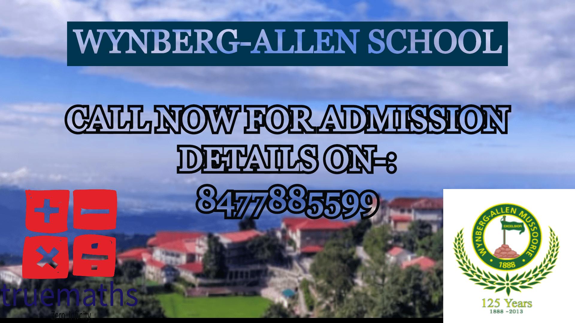 Wynberg Allen School Mussoorie
