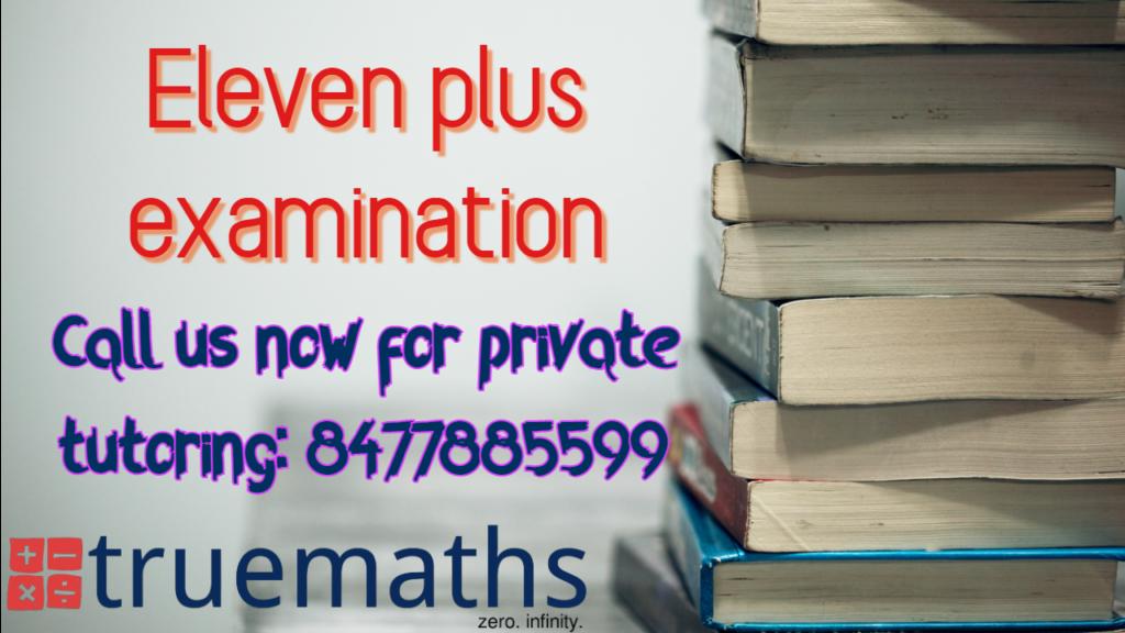 eleven plus entrance exam for grammar school