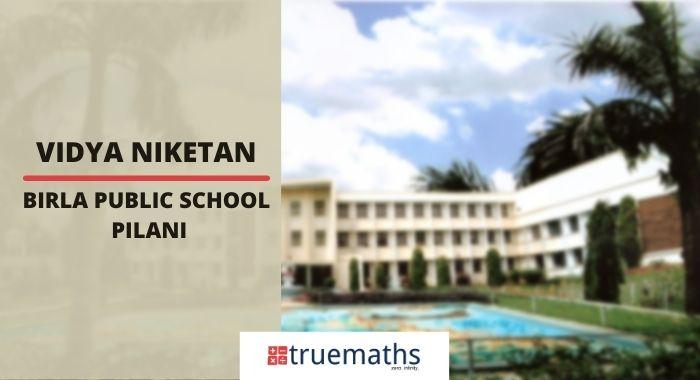 Birla Public School, Pilani