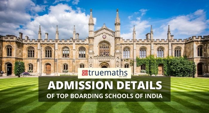 Boarding School Admission Details