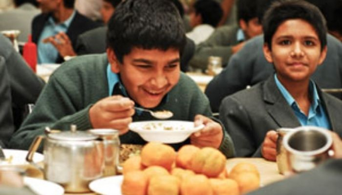 dining at the doon school