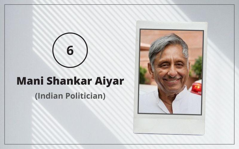 Mani Shankar Aiyar welham boys school alumni