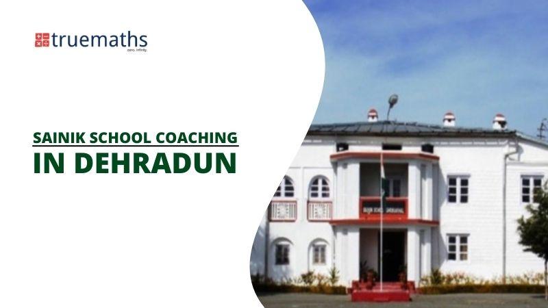 sainik school coaching in Dehradun