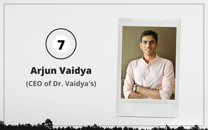 Arjun Vaidya DAIS alumni
