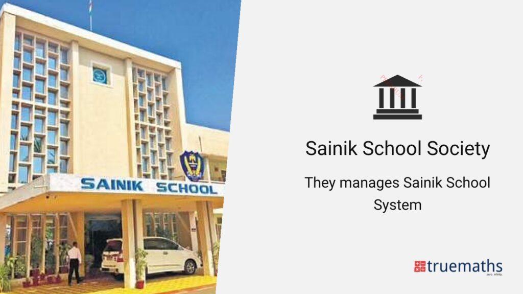 Sainik school society